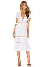 Privacy Please Clemente Midi Dress in White