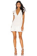Privacy Please Monarch Mini Dress in White