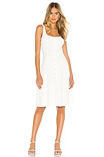 Privacy Please Andrews Midi Dress in Peony White