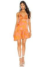 Privacy Please Daphne Mini Dress in Marigold Ana Floral