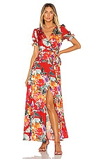 Privacy Please Lera Maxi Dress in Aimee Floral