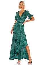 Privacy Please Chrysanthemum Gown in Green