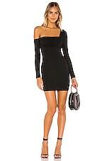 Privacy Please Iliana Mini Dress in Black