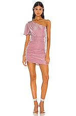 Privacy Please Ryleigh Mini Dress in Pink Metallic