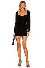 Privacy Please Danica Mini Dress in Black