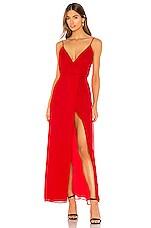 Privacy Please Arlo Maxi Dress in Red