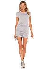 Privacy Please Cara Mini Dress in Heather Grey