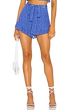Privacy Please Giovanna Short in Blue Floral