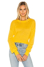 Privacy Please Monture Sweater in Zesty Yellow