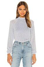 Privacy Please Harlee Sweater in Powder Blue Metallic