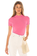 Privacy Please Zaida Turtleneck Sweater in Pink