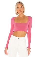 Privacy Please Sheela Sweater in Pink