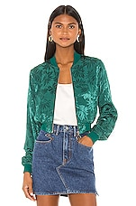 Privacy Please Roxy Bomber in Green