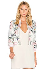 Privacy Please x REVOLVE Lexie Bomber in Hannah Floral