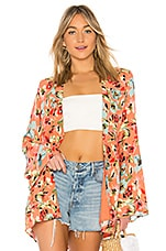 Privacy Please Bliss Robe in Gina Floral