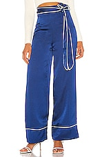 Privacy Please Delores Pant in Quartz Blue