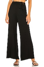Privacy Please Sidney Pant in Black