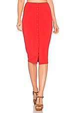 Privacy Please Hopewell Skirt in Red Orange