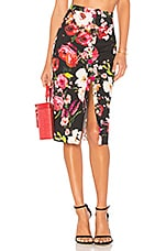 Privacy Please Scarlet Skirt in Amy Floral