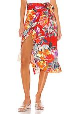 Privacy Please Vivienne Midi Skirt in Aimee Floral