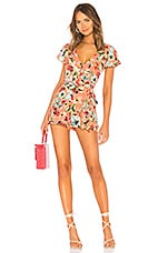 Privacy Please Raylyn Romper in Gina Floral