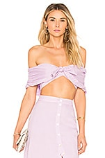 Privacy Please Westminster Top in Lilac
