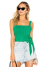 Privacy Please Maxwell Top in Green