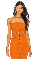 Privacy Please Pippa Top in Moroccan Orange