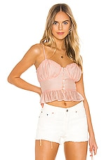 Privacy Please Amelie Top in Soft Pink