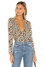 Privacy Please Makenna Bodysuit in Leopard