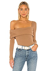 Privacy Please Florence Bodysuit in Taupe
