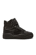 Pony M 110 Woven Leather en Noir