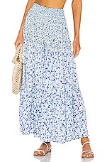 Poupette St Barth Soledad Pant in Blue Icy Liberty