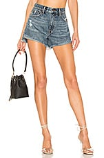 PISTOLA Kylee Relaxed High Rise Short in Luna