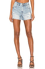 PISTOLA Nova High Rise Cut Off Short in Santa Fe