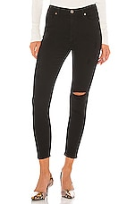 PISTOLA Aline High Rise Skinny in Black Magic