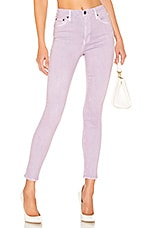 PISTOLA Aline High Rise Skinny in Lilac Field