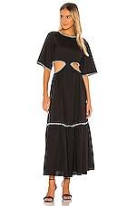 Petersyn Katia Dress in Black & White