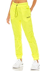 Puma Chase Woven Pant in Yellow Alert
