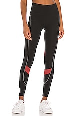 Puma The First Mile Eclipse Tight in Puma Black & Burnt Russet
