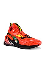 Puma Select LQDCell Prigin Scary Cat in Nrgy Red & Puma Black & Dandelion
