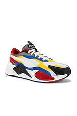 Puma Select RSX Cube RS-X3 Puzzle in Puma White & Spectra Yellow