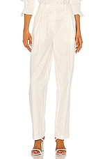 Piece of White Colette Trousers in White