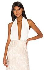 Piece of White Gloria Bodysuit in Ecru