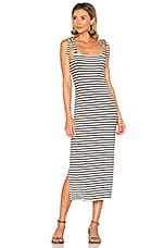 Rachel Pally Roselyn Dress in Black & White Stripe