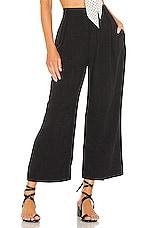 Rachel Pally Linen Desiree Pant in Black