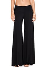 Wide Leg Trouser in Black