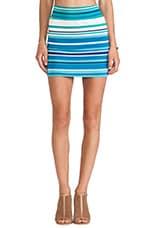 Bandage Mini Skirt in Sea Stripe