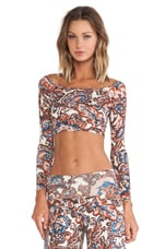 Cunningham Top in Lotus Paisley