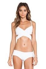 Roatan Bikini Top in White